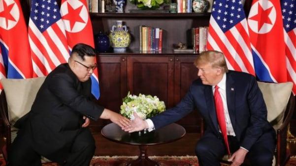 트럼프-김정은2