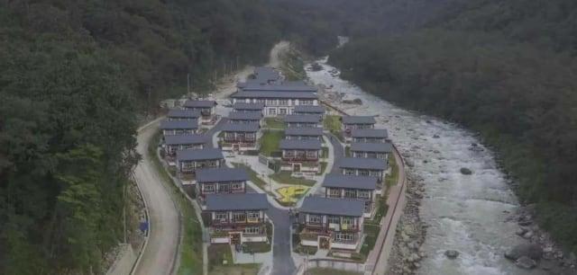 부탄-중공-알박이