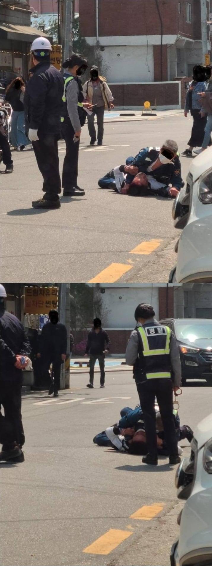심판보는 경찰